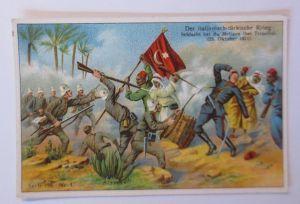 Kaufmannsbilder, Serie 735, Nr, 4, Der Italienische-Türkische Krieg ♥ (12481)