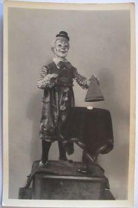 Spielzeug, Spielzeugmuseum Sonneberg, Clown Spielzeugmechanik 1910 (27135)