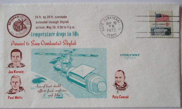 Raumfahrt USA Skylab Astronauten, 1973 (22264)