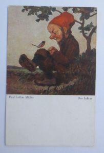 Zwerge, Der Lehrer,   1920, Paul Lothar Müller  ♥ (68012)