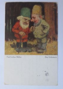 Zwerge, Das Geheimnis,   1921, Paul Lothar Müller ♥ (68002)