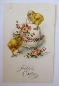 Ostern, Osterei, Küken, Blumen,   1929 ♥ (68199)