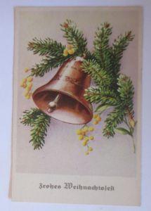 Neujahr, Glocken, Tannenzweig,  1934  ♥ (67947)