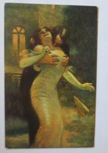 Künstlerkarte, Frauen, Männer, Mode, Kuss, Erotik,  1910, A. Guillaume ♥ (68147)