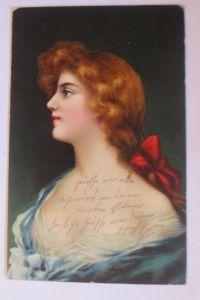 Künstlerkarte, Frauen, Mode,   1907  ♥ (68320)