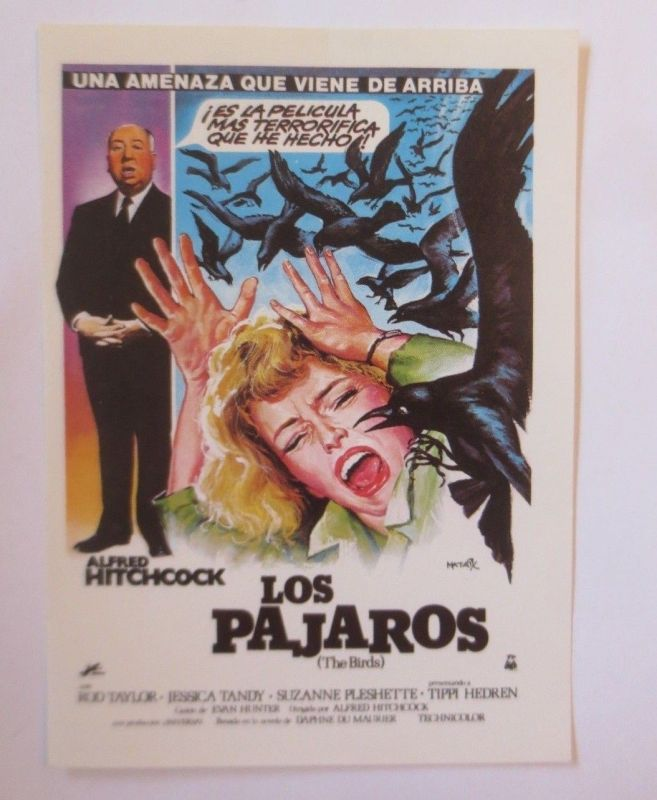 Film, Alfred Hitchcock, Die Vögel, Los Pajaros, The Birds, 1960 ♥ (67993)