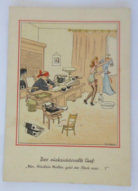 Comic, Der Rücksichtsvolle Chef, 1930, Will Halle  ♥ (68789)