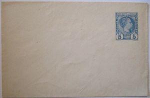 Monaco Ganzsache Umschlag U 1 ungebraucht (19022)
