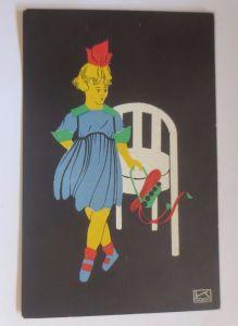 Neujahr, Kinder, Mode, Stuhl    1910, Hilde Kallenbach ♥ (53523)