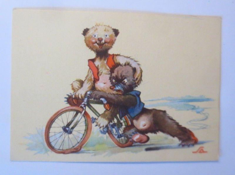 Fahrrad, Bär,  1940 ♥ (12125)