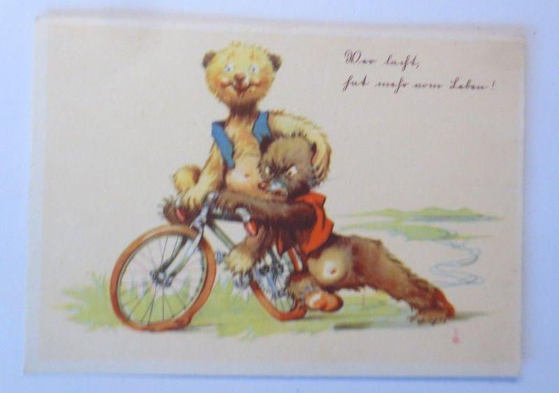 Fahrrad, Bär,  1942 ♥ (57444)