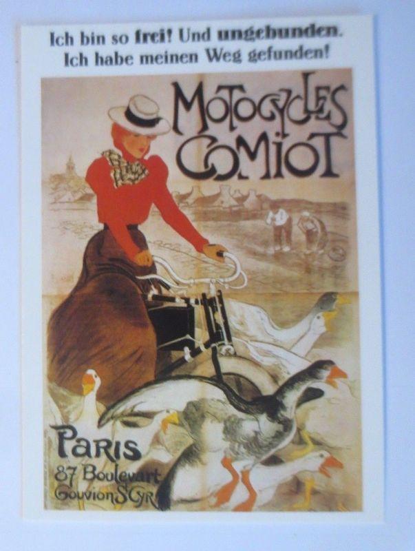 Fahrrad,Werbung Reklame, Motogycles Comiot Paris 1980 ♥ (66154)