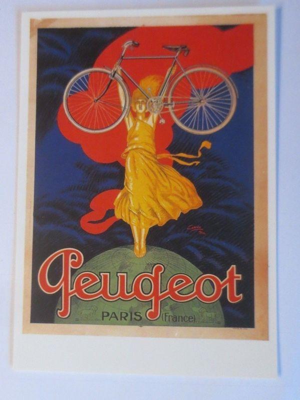 Fahrrad,Werbung Reklame, Peugeot Paris,  1980 ♥ (27958)