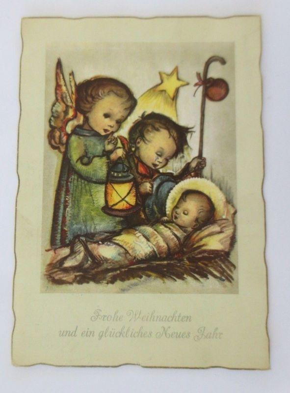 Bilder Weihnachten Krippe.Engel Stern 1909 18565 Weihnachten Krippe