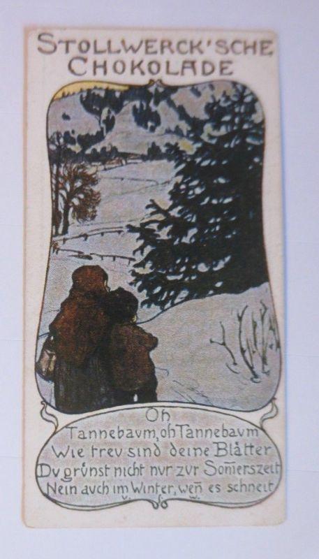 Stollwerck, O Tannenbaum, O Tannenbaum, Gruppe41,  Nr.5,  Album Nr.2  ♥ (66378)