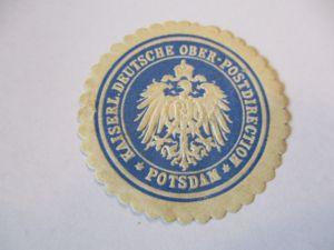Siegelmarke D.Reich, Oberpostdirektion Potsdam (49268)