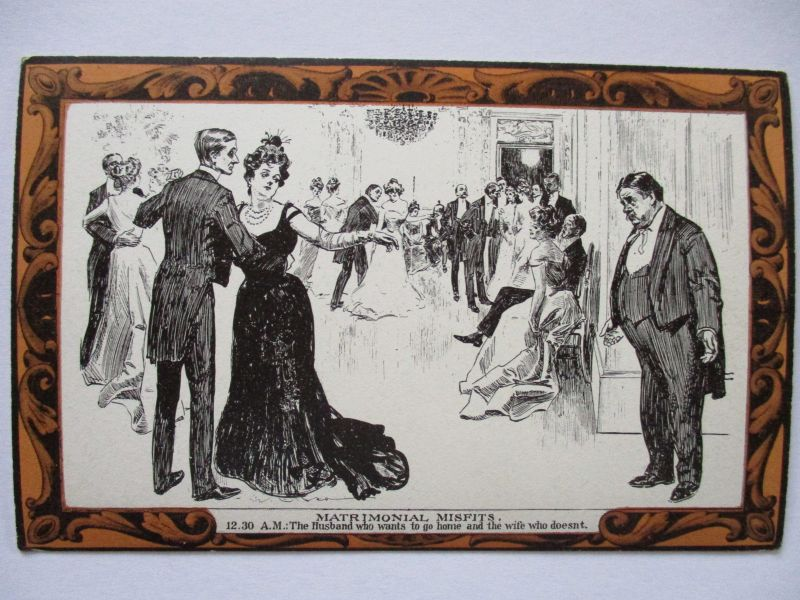 Pictorial Comedy Postcard, Gibson´s Drawings Nr.43, ca. 1910 (36888)