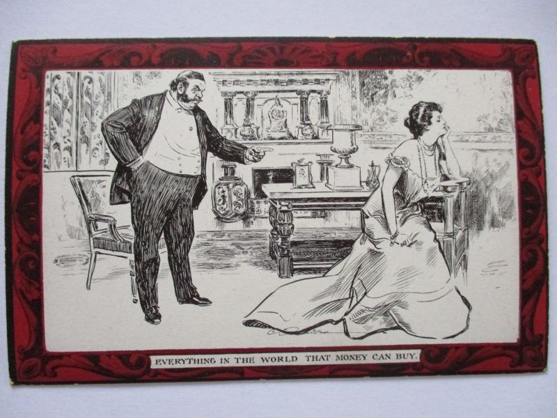 Pictorial Comedy Postcard, Gibson´s Drawings Nr.48, ca. 1910 (19793)