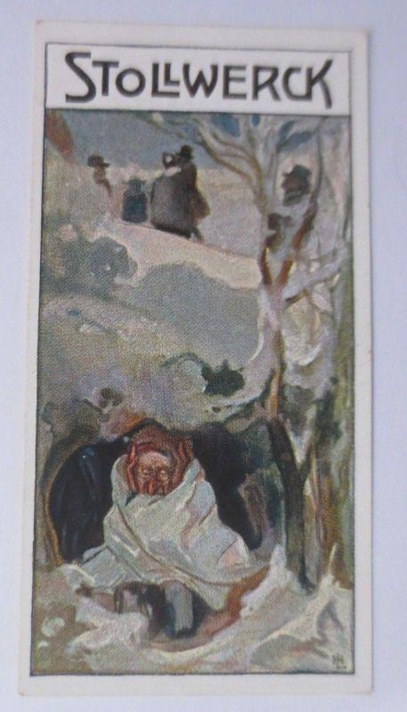 Stollwerck, Der Auszug, Gruppe 392,  Nr.1, Album Nr.9,  1900 ♥ (21138)