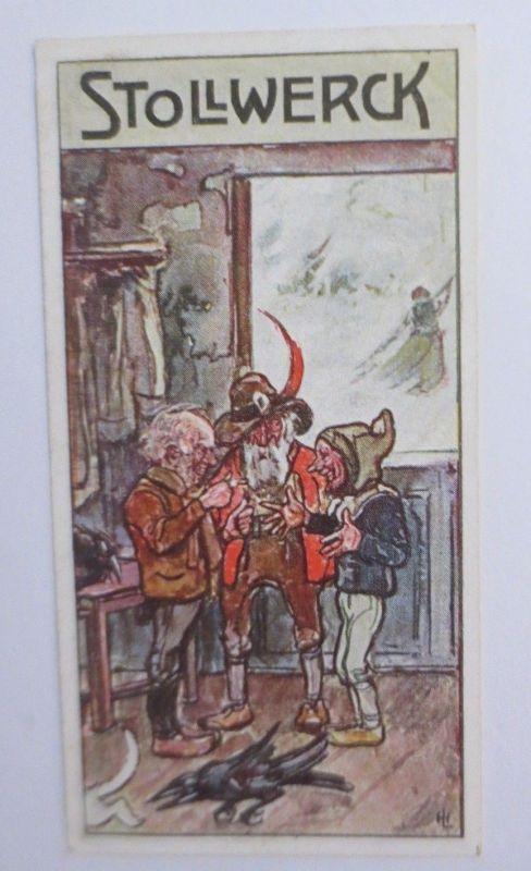 Stollwerck, Bei den Haulemännerchen, Gruppe 381, Nr.3, Album Nr.9,1900 ♥ (19354)