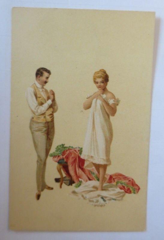 Künstlerkarte, Frauen, Männer, Mode,  1900,  Hegedüs Geiger  ♥ (57544)