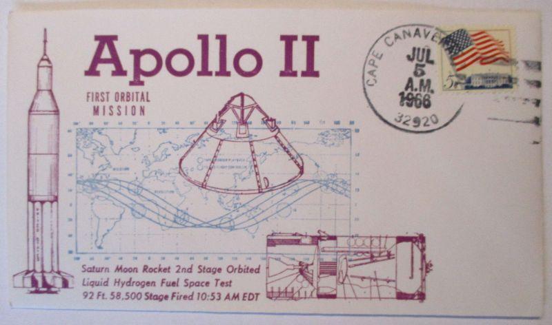 Weltraum, Raumfahrt, Apollo 2, 1966 (44597)