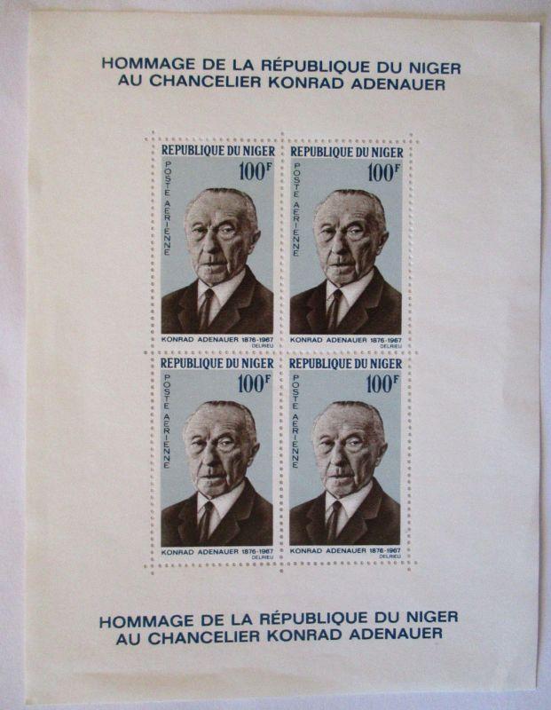 Westafrika, Adenauer, kleines postfrisches Lot (57491)