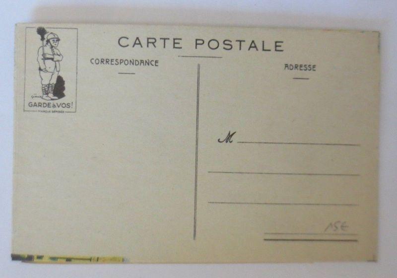 Klappkarte, Militär, Polizei,     1910  ♥ (68894) 3