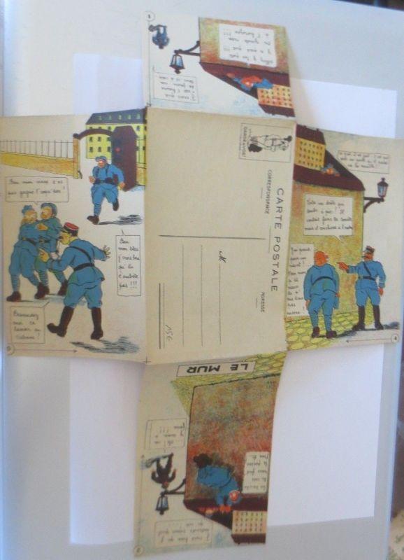 Klappkarte, Militär, Polizei,     1910  ♥ (68891) 1