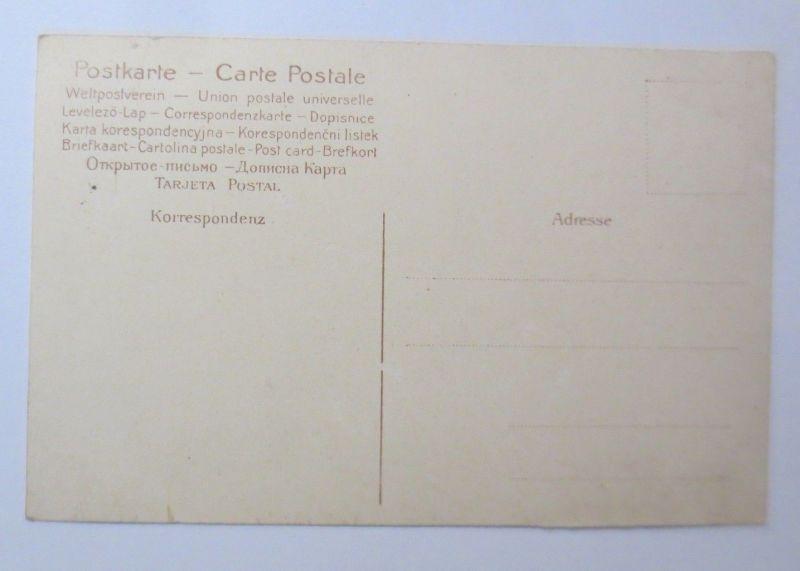 Scherzkarte, Männer, Zylinder, Spruch,  1910  ♥ (68548) 1