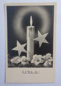 Weihnachten, Kerzen, Sterne,      1957 ♥ (62418)