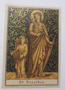 Künstlerkarte, Erotik, Nymphe u. Zicklein,Salon des femmes Peintres 1914♥(69510)