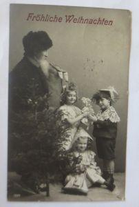 Weihnachten, Weihnachtsmann, Kinder, Spielzeug,   1911 ♥ (69405)