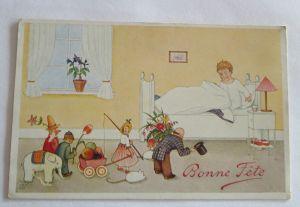 Geburtstag, Kinder, Spielzeug, Primus, 1910 ♥  (16403)