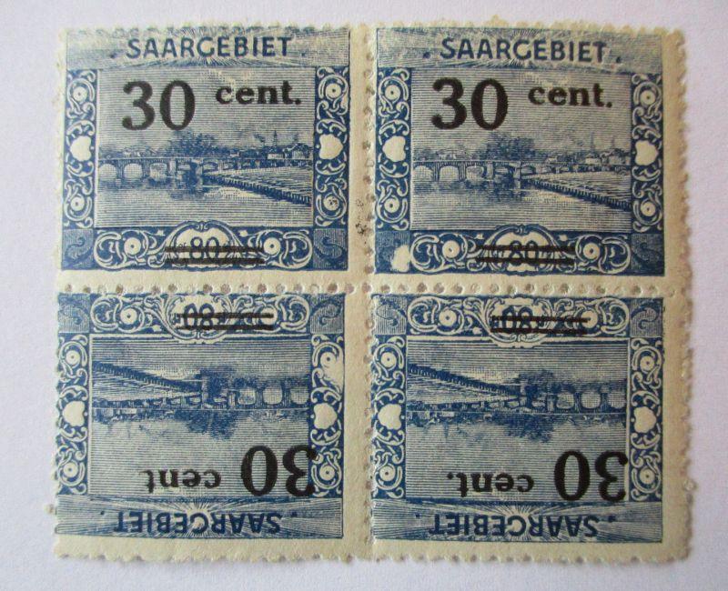 Saargebiet, Michel Nr. 76, Kehrdruck ungebraucht (54898)