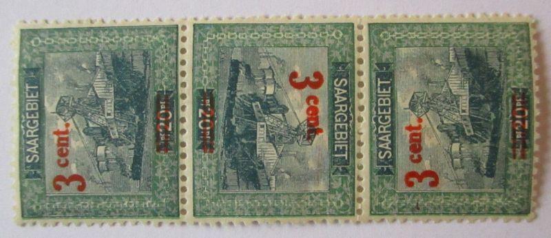 Saargebiet, Michel Nr. 70, Kehrdruck ungebraucht (67788)