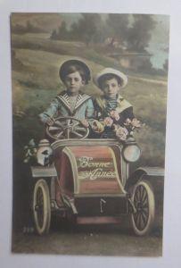 Kinder, Mode, Auto, Blumen, Oldtimer, Matrosen,   1910 ♥ (47349)