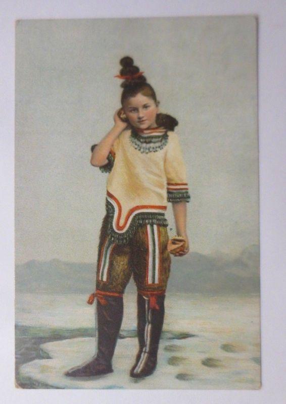 Kinder, Mode, Trachten, Grönland,   1900 ♥ (67303)