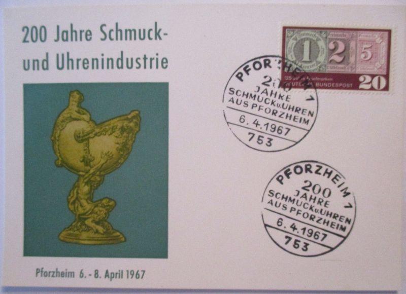 200 Jahre Schmuck und Uhren Industrie Pforzheim 1967 (49009)