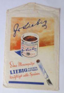 Reklame, Kaufladen Tütchen,  Liebig, Fleisch-Extrakt, ca.1920 ♥ (69962)