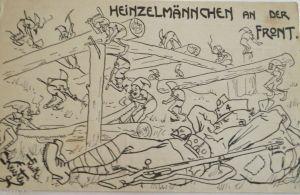Reklamemarken, Aecht Franck mit der Kaffeemühle  1910 ♥ (17607)