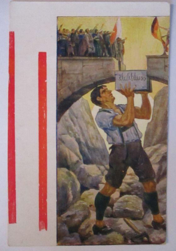 Deutsch Österreich, Anschluß, Patriotik ca. 1919 (5933)