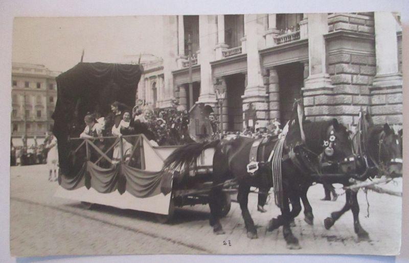 Österreich Wien, Deutscher Volkstag, Fotokarte ca. 1910 (24115)