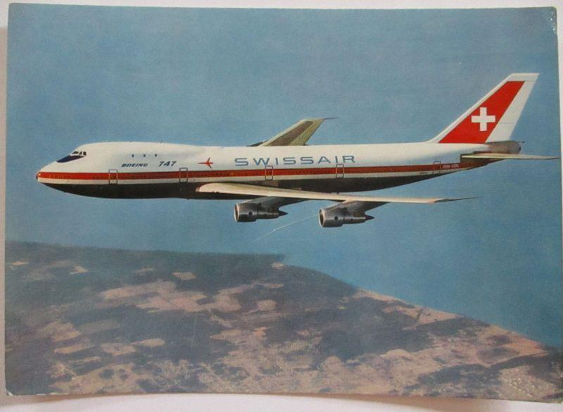 Swissair Boeing 747, 1971 (39725)