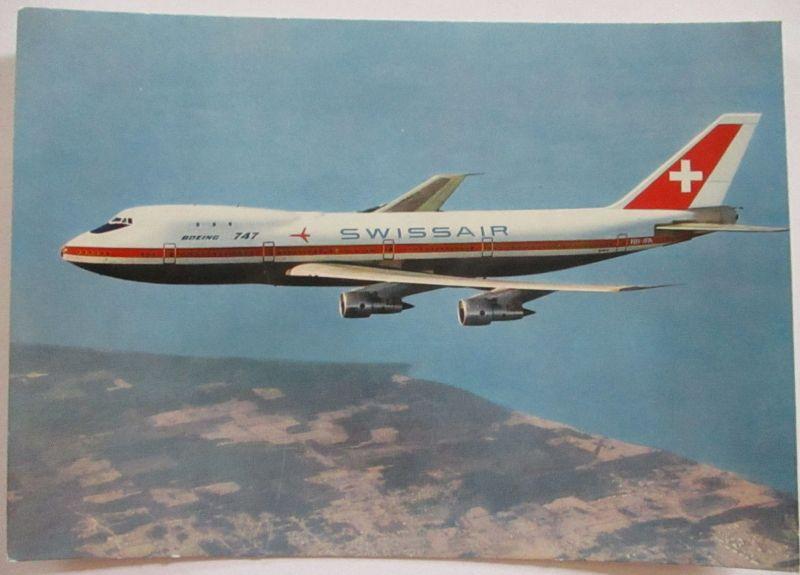Swissair Boeing 747, 1971 (56194)
