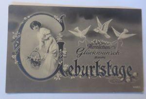 Ostern, Kinder,Mode,Blumen, Ostergruß,  1920, F.Schenkel ♥ (70159)