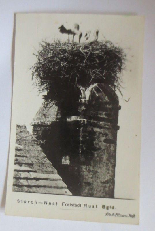 Storch-Nest, Freistadt Rust Bgld. Österreich 1930 ♥ (70135)