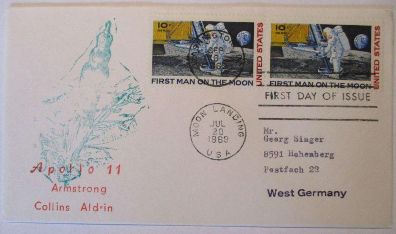 Weltraum, Raumfahrt, Apollo 11, 1969 (44608)