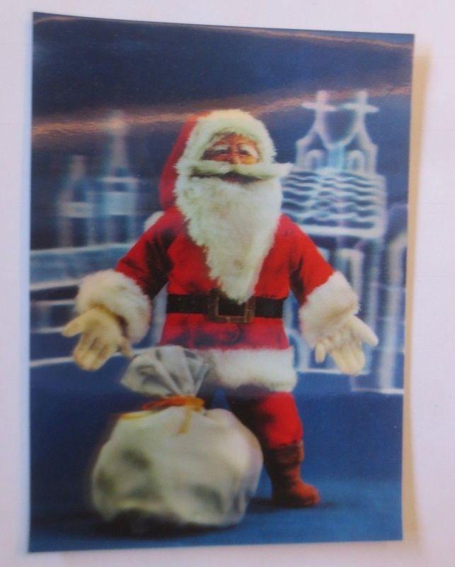 Weihnachten, Santa Claus, Nikolaus, 3D Karte, 1960 ♥ (16994) Nr ...