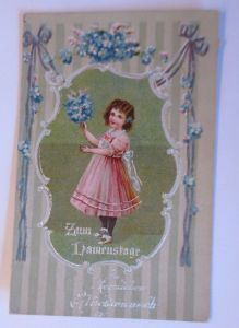 Namenstag, Kinder, Mode, Biedermeier,   1920 ♥ (67929)